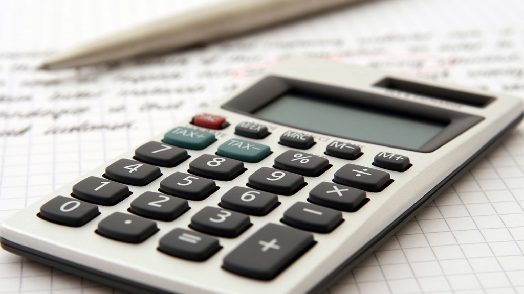 Calculator Financial Services